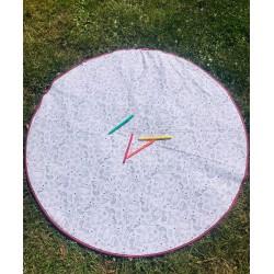 Tapis de jeux lavable pour l'extérieur à colorier